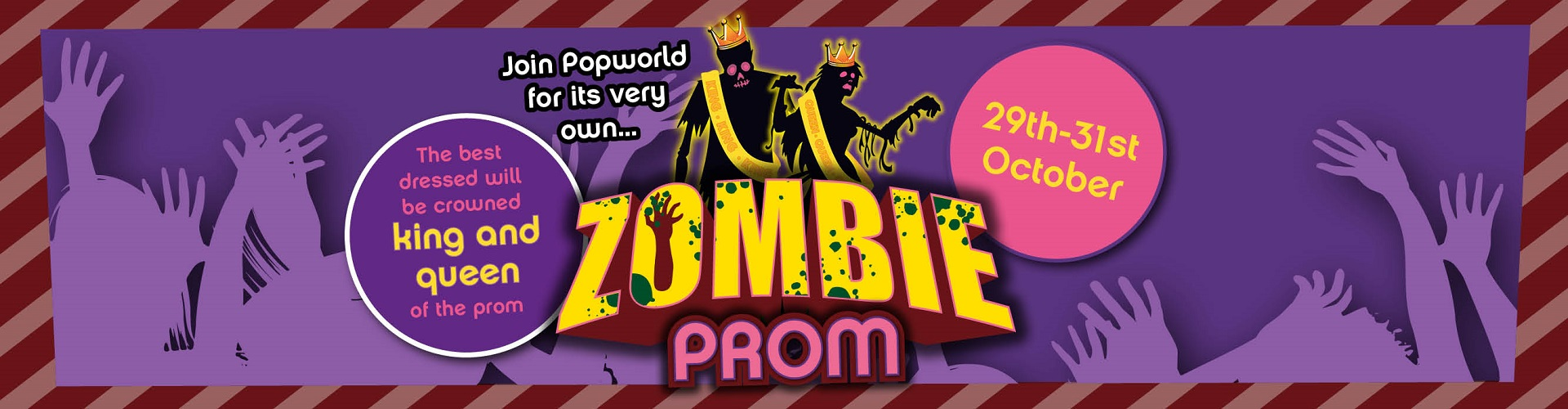 Halloween Zombie Prom at Popworld