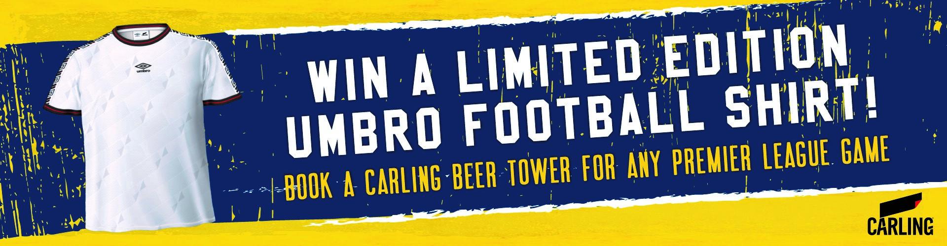Win a Limited Edition Umbro Football Shirt