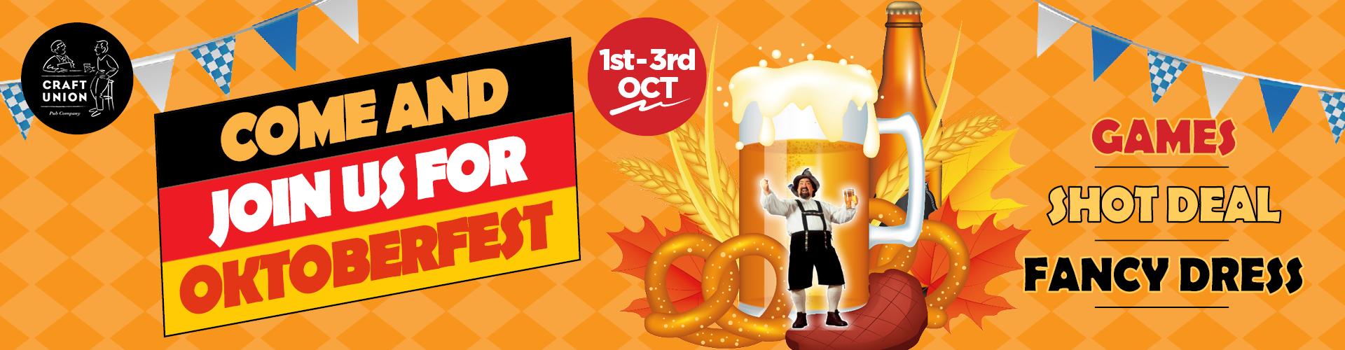 Oktoberfest 2021 Events Craft Union Pub Compny