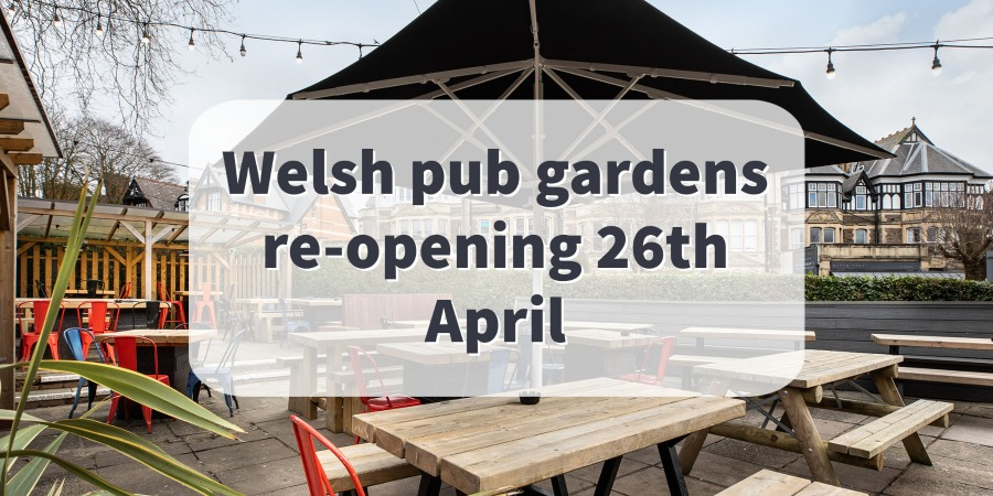 Welsh gardens reopening soon