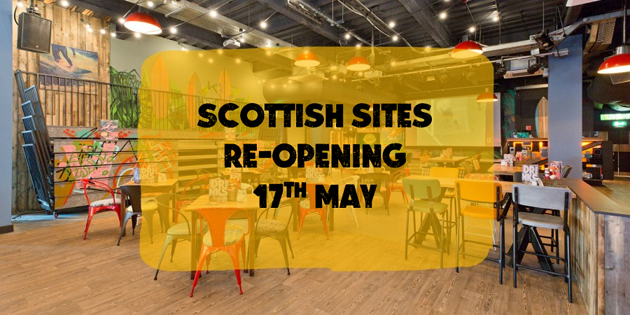 Scottish Sites Opening 17th May