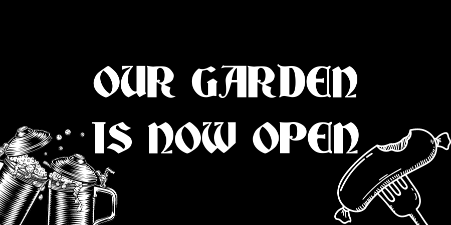 Outdoor Space Re-opening April 12th