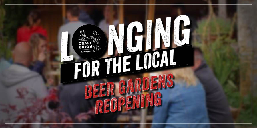 Craft Union beer gardens reopening