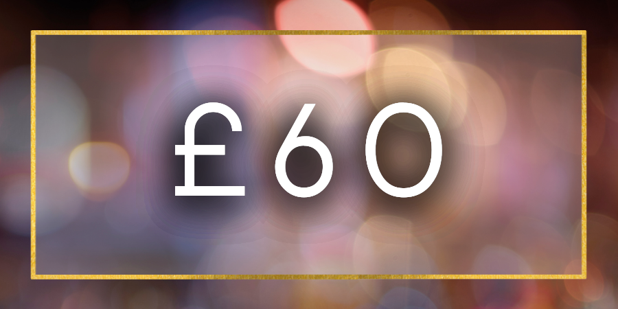 £60 Gift Card Value