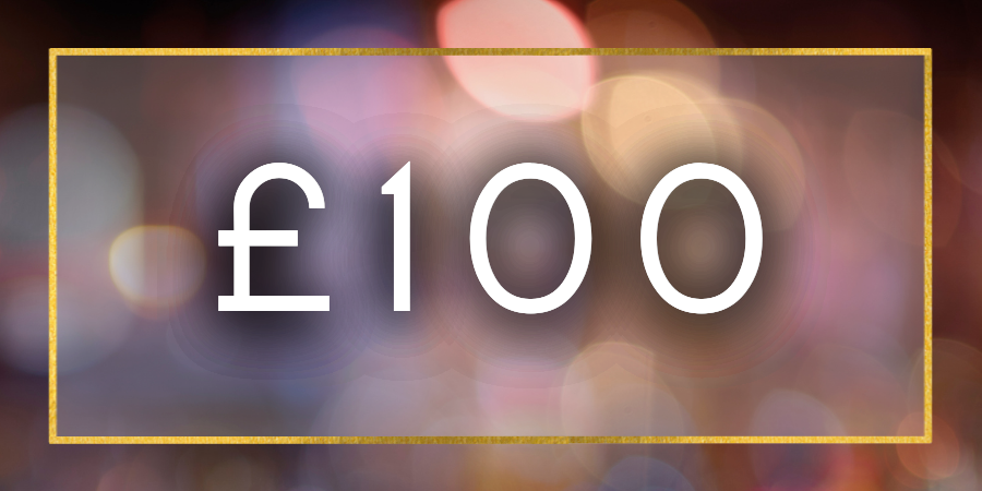 £100 Gift Card Value