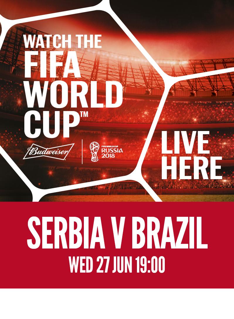 Serbia vs. Brazil