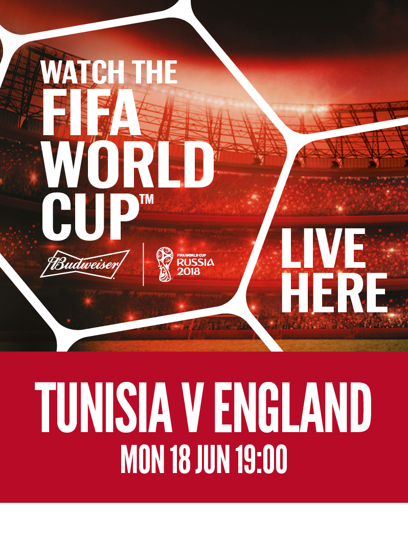 Tunisia vs. England