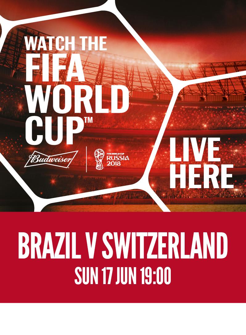 Brazil vs. Switzerland