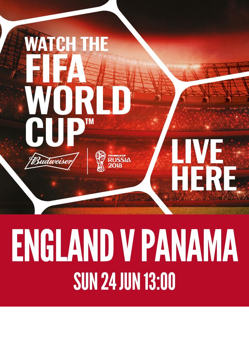 England vs. Panama