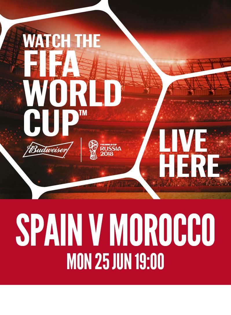 Spain vs. Morocco