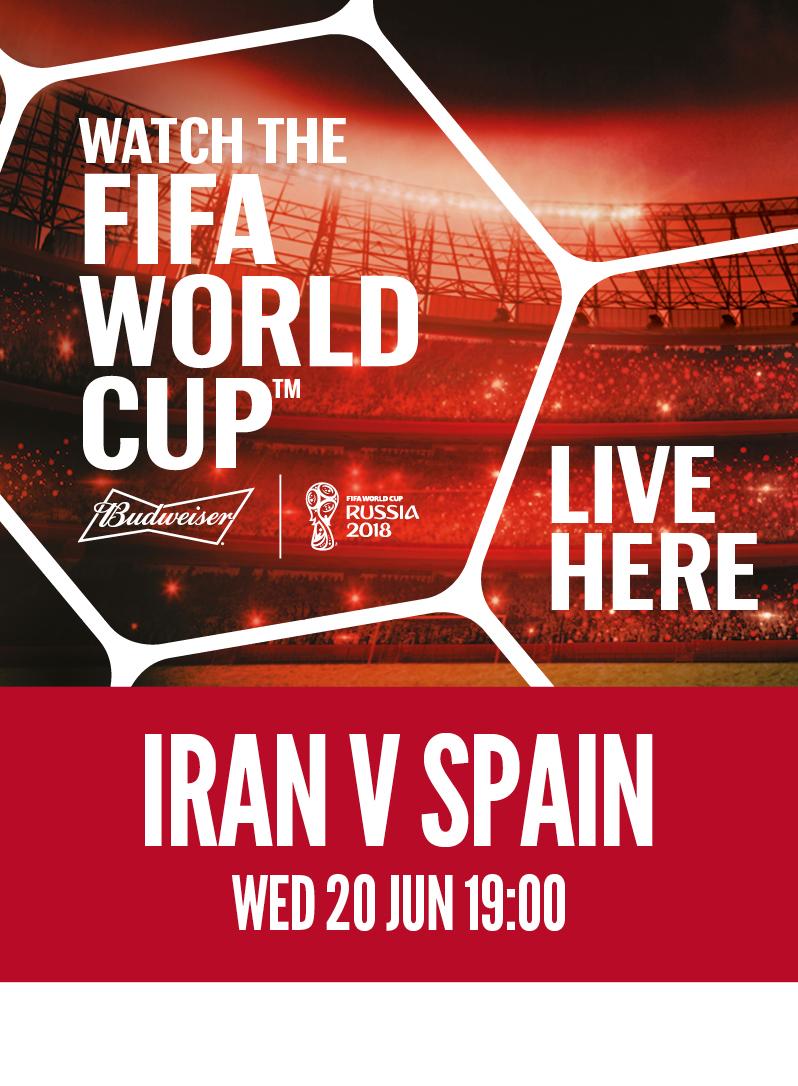 Iran vs. Spain