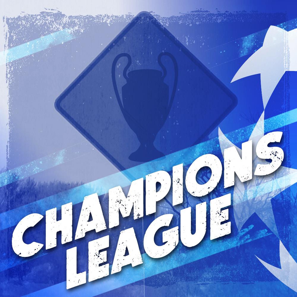 Champions League Football at Walkabout