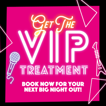 VIP treatment book now