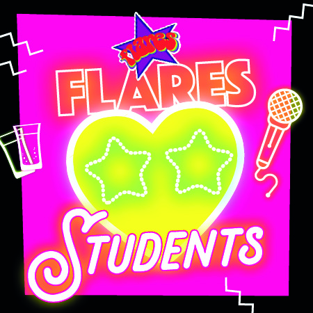 Flares loves students!