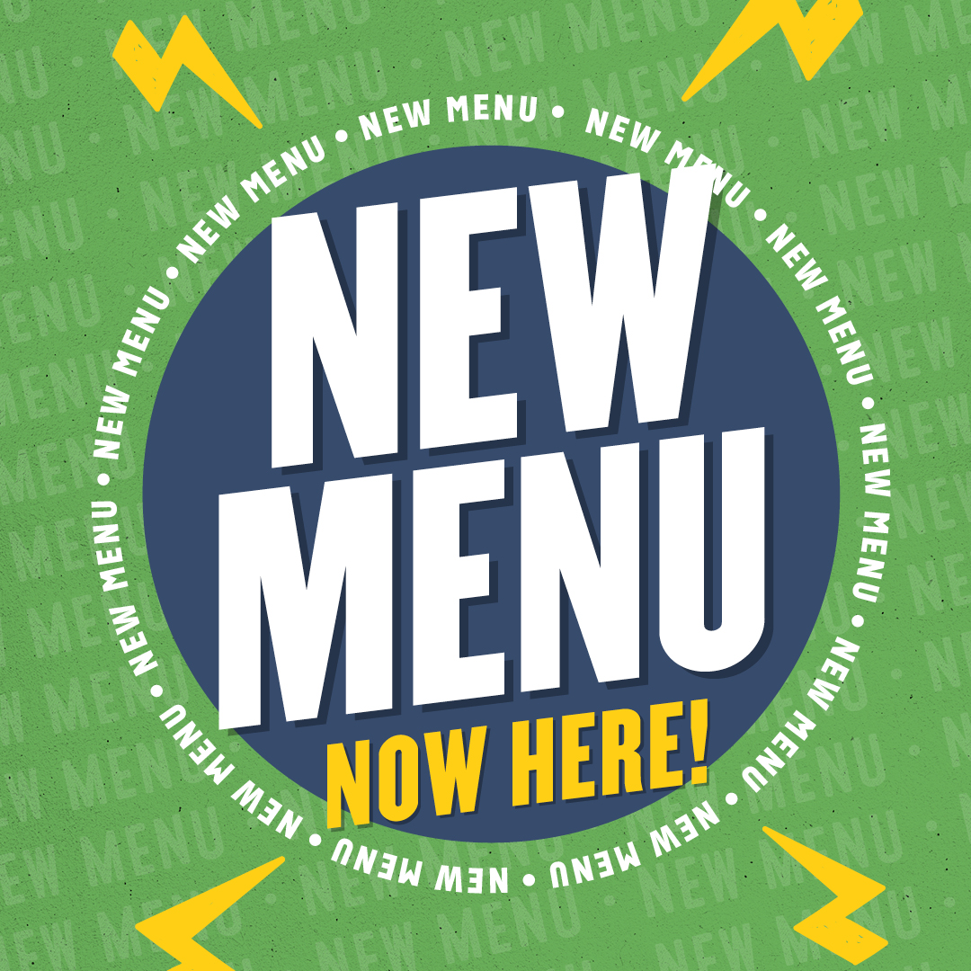 New menu now here