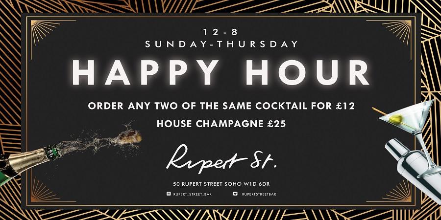 Rupert Street Happy Hour
