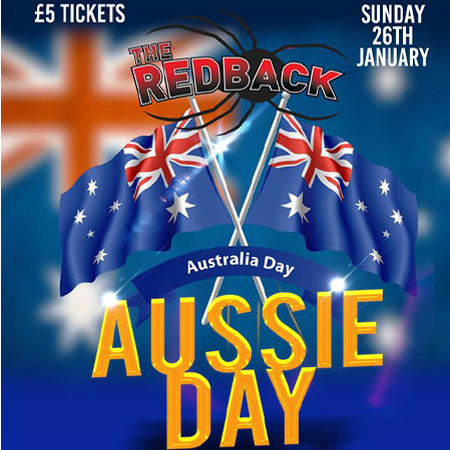 Australia Day at The Redback in Fulham