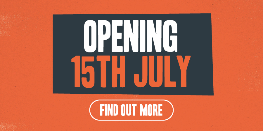 Opening on the 15th July