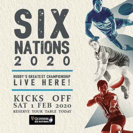 Watch Six Nations Rugby Here