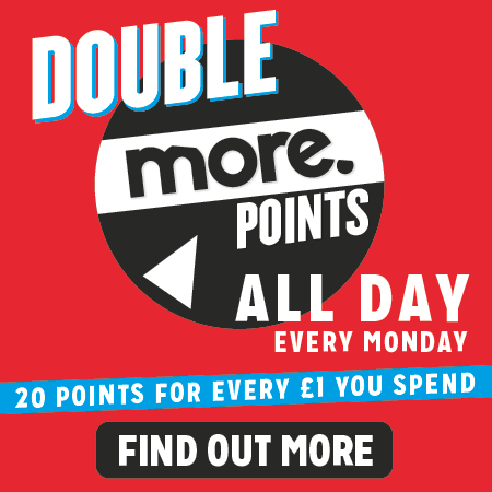 Double Points Every Monday