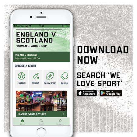 Download the We Love Sport App