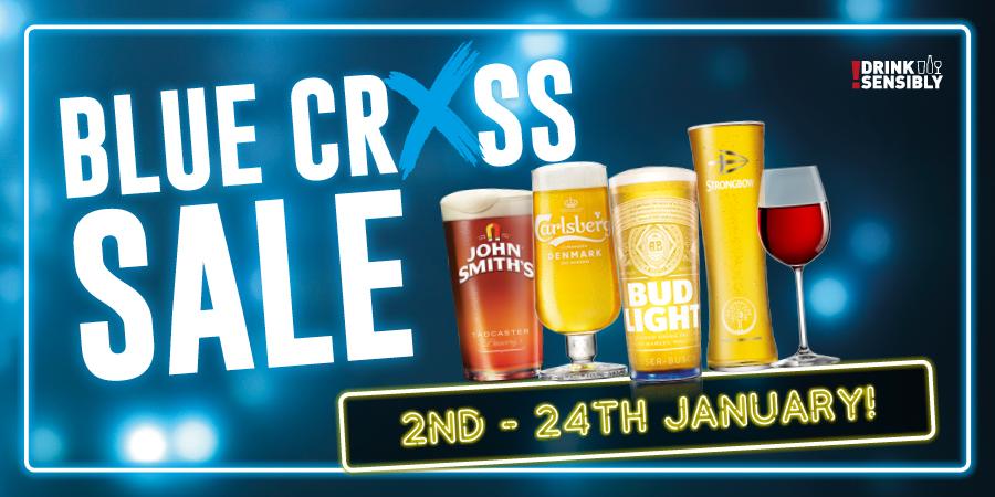 Blue Cross Sale