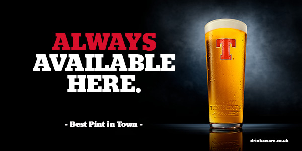 Tennent's Lager Still Stocked Here