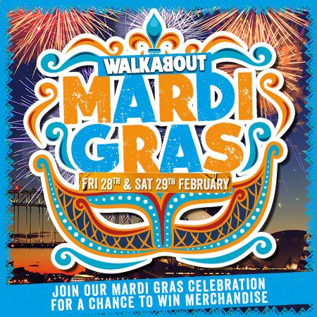 Mardi Gras at Walkabout