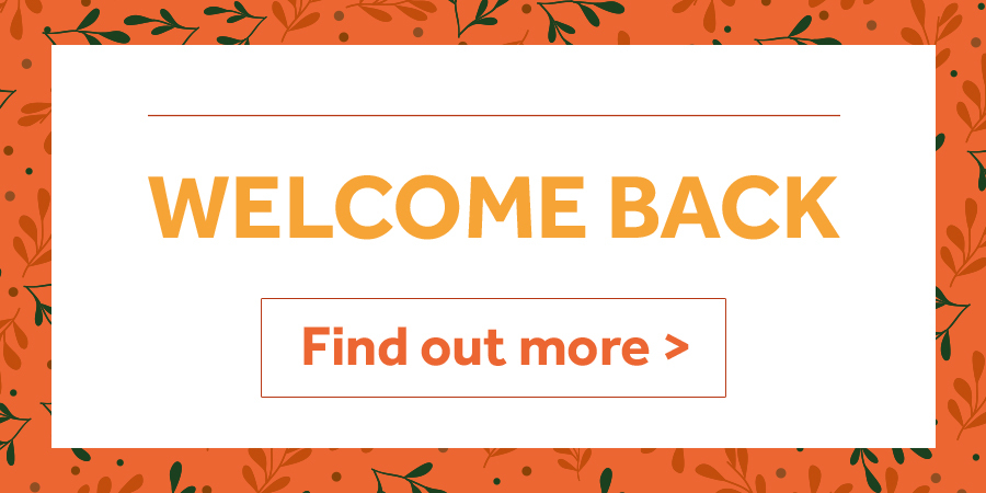 Welcome Back - Welsh sites