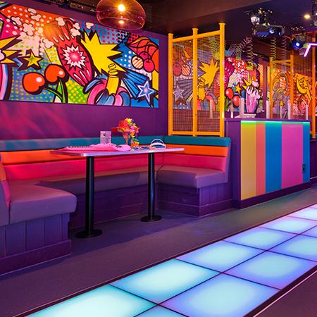 Popworld Macclesfield booth