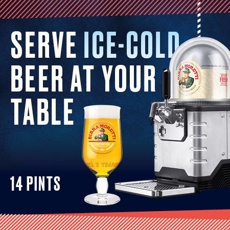 Pre-Book Our Birra Moretti Sharer