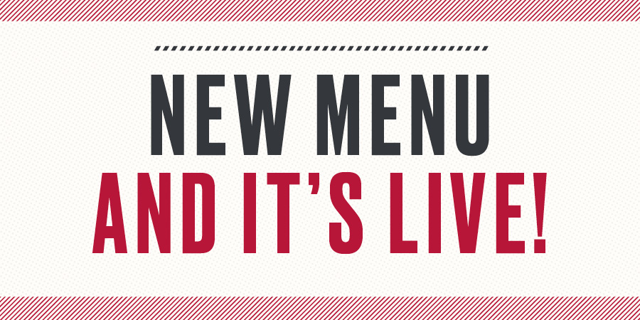 New menu live offer change 2019