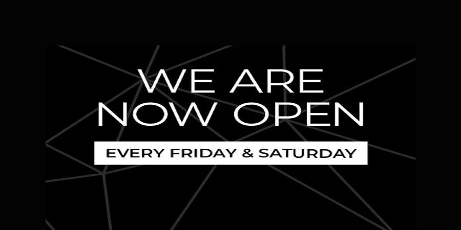 Now Open - 11th September