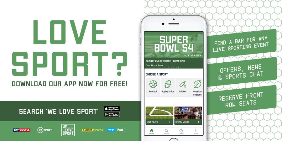 We Love Sport App