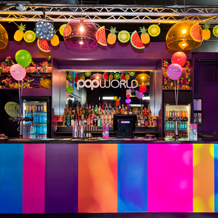 Popworld Macclesfield Drinks