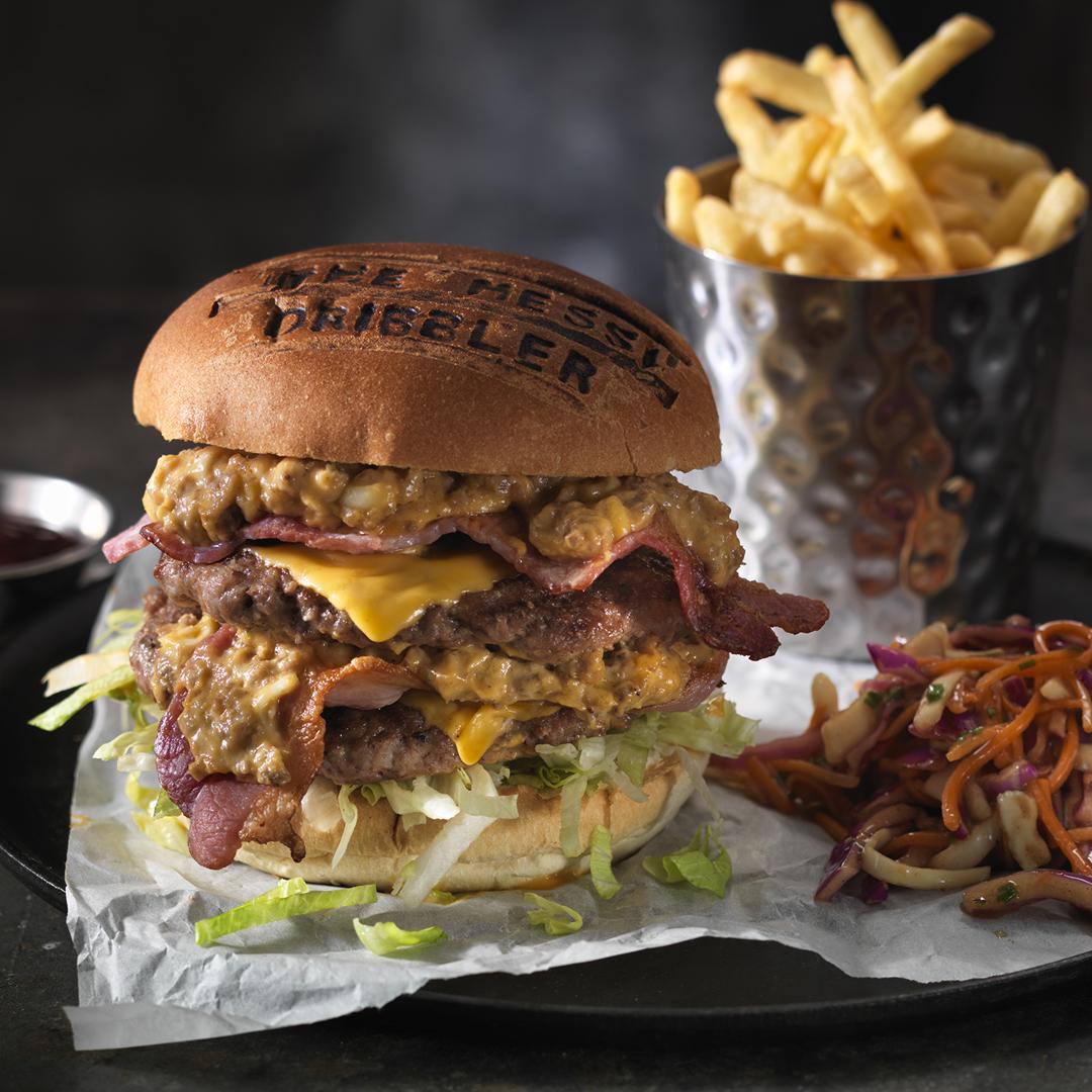 Messi Beef Burger