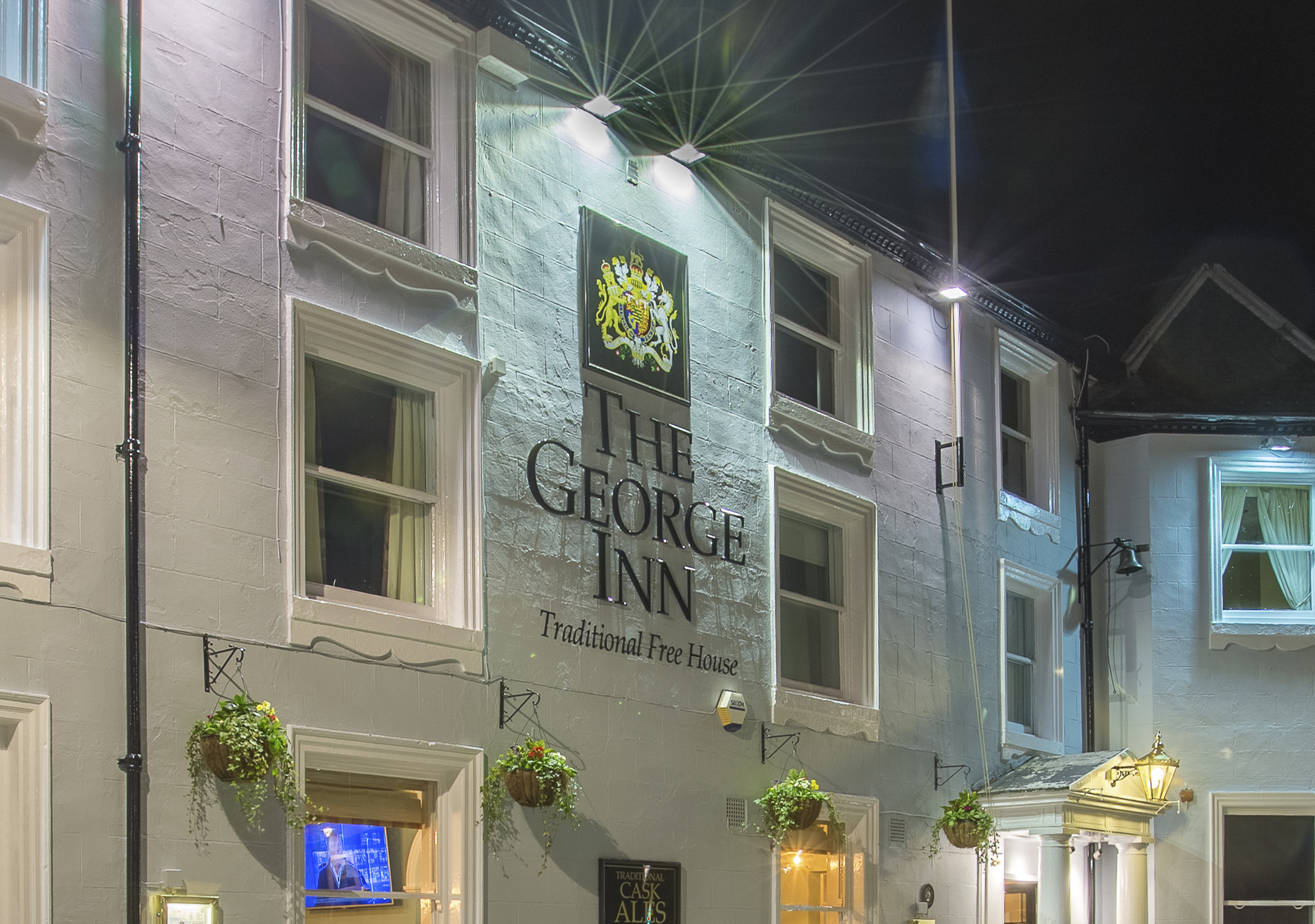 The George Inn Pubs In Selby Serving Pub Food