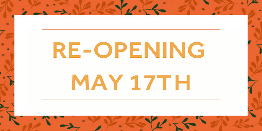 Re-opening 17th May