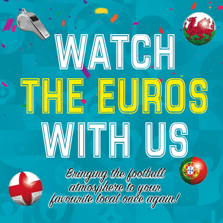 Watch EURO 2020 games live at your local pub