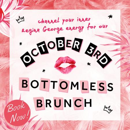 October 3rd Bottomless Brunch