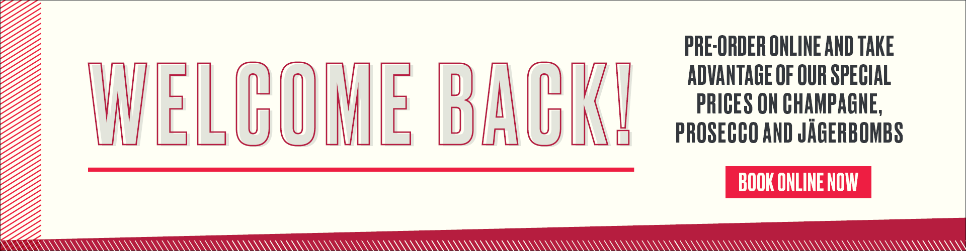 Welcome Back to Sports Bar & Grill - Book Now