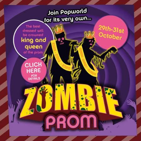 Popworld Halloween Zombie Prom