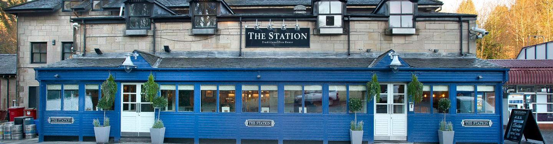 The Station Pub in Bearsden