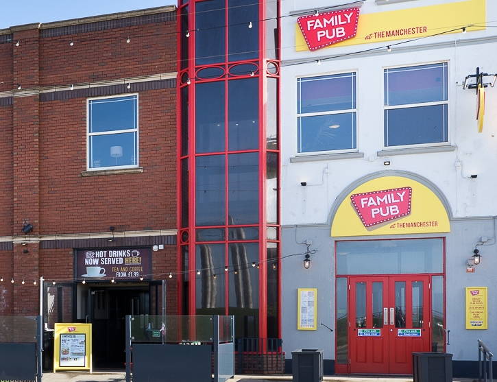 Manchester Family Bar Pubs In Blackpool Serving Pub Food