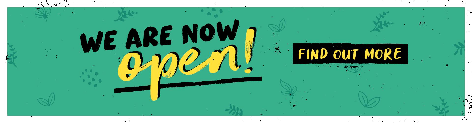 Scottish sites now open