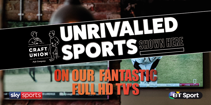 Watch live sport at your local pub
