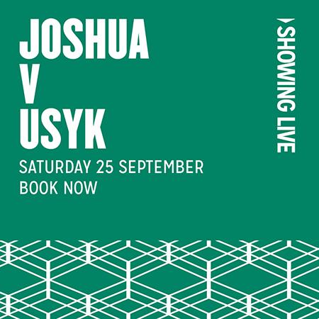 Anthony Joshua vs Usyk Live Boxing