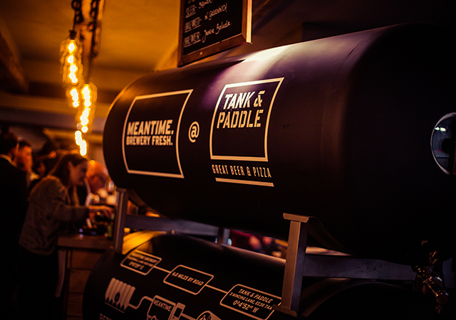 Tank Paddle Minster Court Craft Beer Pizza In London