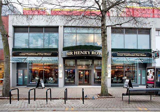 Sir Henry Royce Pubs In Peterborough Serving Pub Food