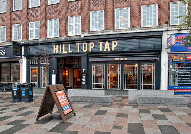 Hill Top Tap Craft Beer Ales Pub In Sidcup Bexley